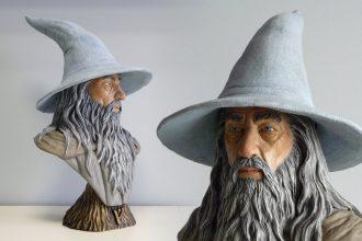 Busto di Gandalf