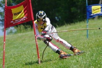 Grass Ski, gli sci per erba