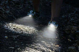 Luci per scarpe da esploratore