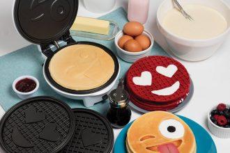 Piastra per waffle Emoticon
