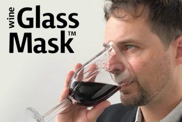 Bicchiere maschera dell'ossigeno