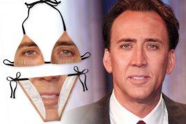 Bikini di Nicolas Cage