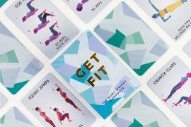 Mazzo di carte fitness