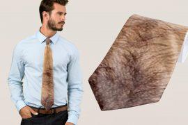 Cravatta da uomo rozzo