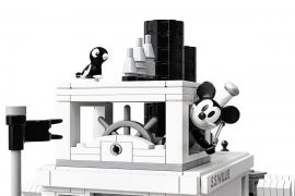 LEGO Ideas Steamboat Willie