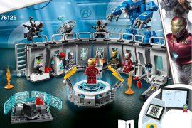 Sala delle Armature di Iron Man LEGO