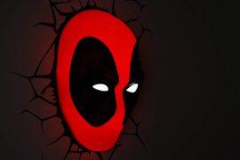 Luce da parete 3D di Deadpool