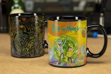 Mug termosensibile Rick e Morty