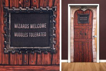 Copertura da porta Harry Potter