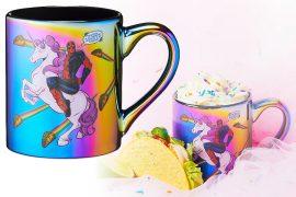 Mug iridescente di Deadpool