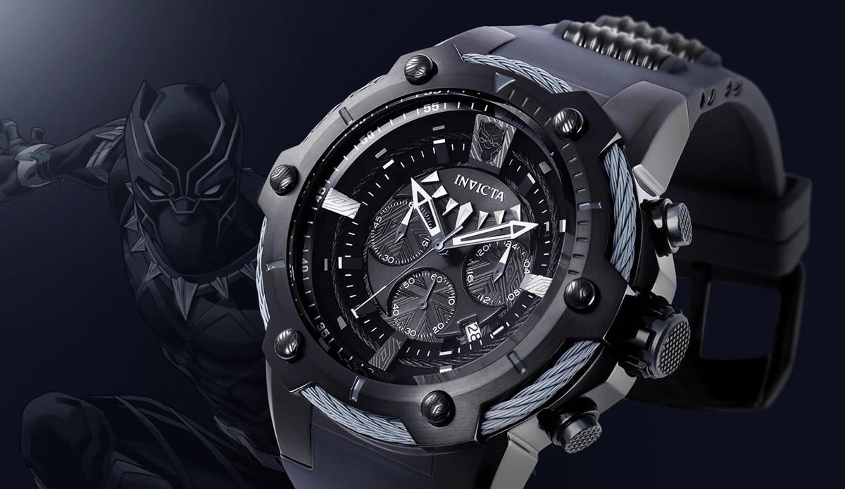 Orologio Invicta Black Panther