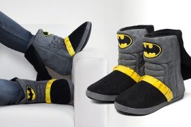 Bat-Pantofole con mantello