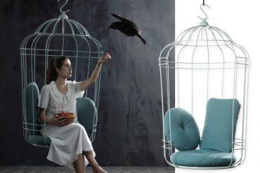Sedia Gabbietta per uccellini