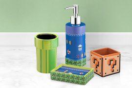 Set Super Mario da bagno
