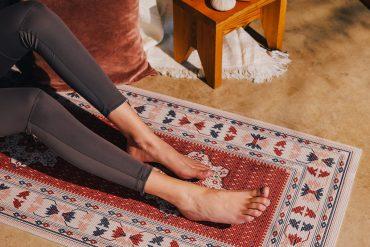 Tappeto persiano da Yoga