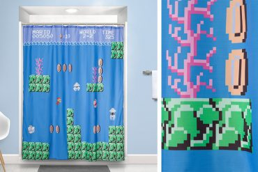 Tenda da doccia Super Mario