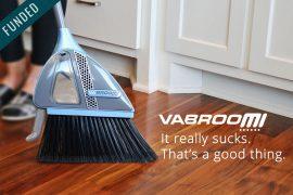 VaBroom, la scopa aspirapolvere