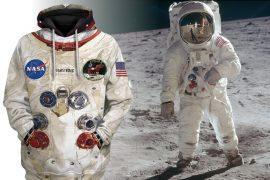 Felpa di Neil Armstrong