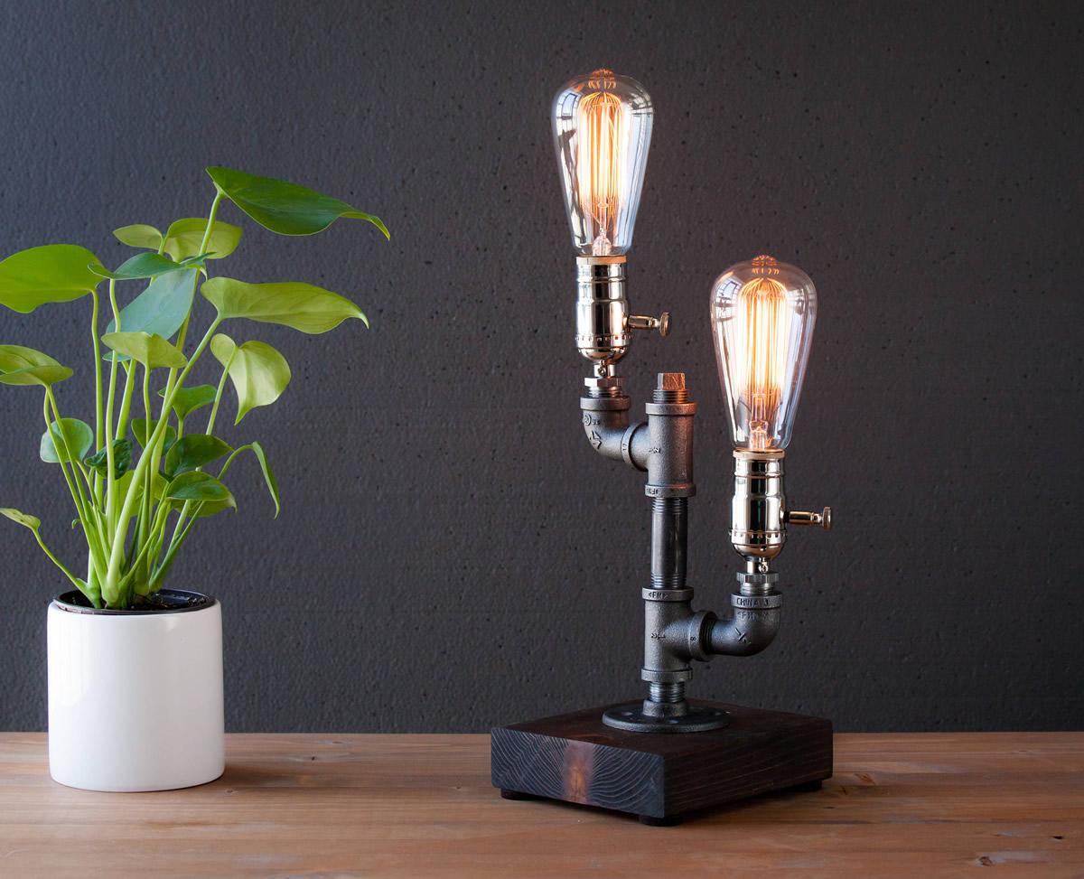 Lampada Steampunk