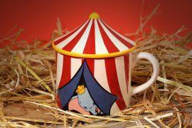 Tazza Circo di Dumbo