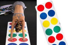Tappeto da yoga Twister