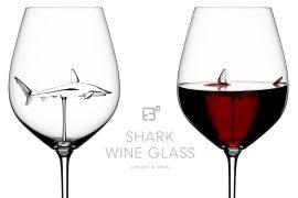 Bicchiere da vino squalo