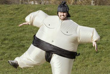 Costume lottatore di sumo
