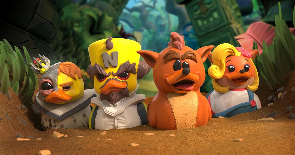 Paperelle NERD: Crash Bandicoot
