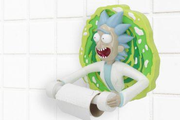 Portarotolo Rick and Morty