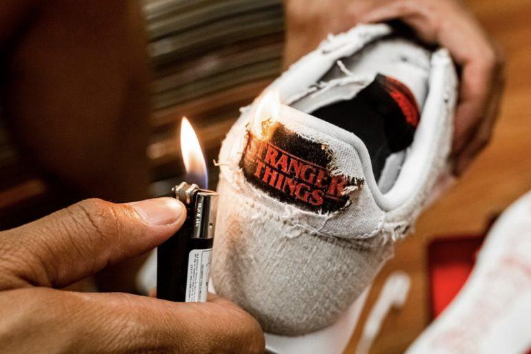 Nike Stranger Things da bruciare