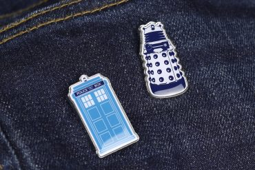 Set di spille Doctor Who