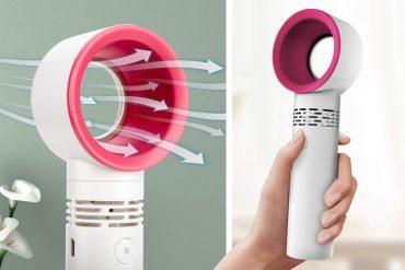 Ventilatore portatile senza pale