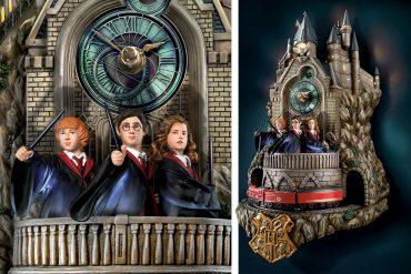 Orologio animato di Hogwarts