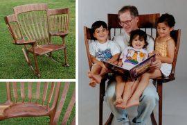 Sedia da lettura per nonni