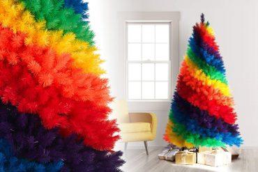 Albero di Natale arcobaleno