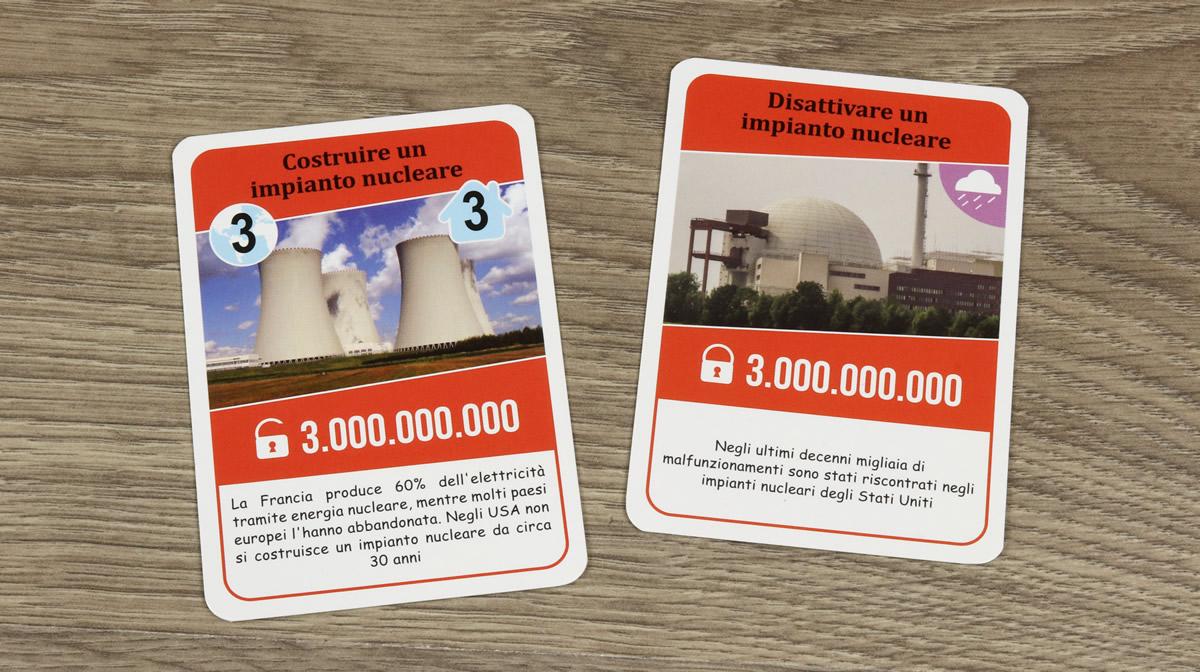 Global Warning - Carte impianto nucleare