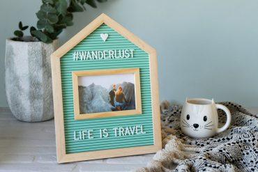 Portafoto personalizzabile Home