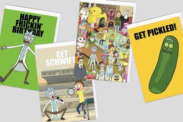 Biglietti di auguri Rick and Morty