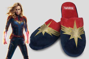 Pantofole di Capitan Marvel