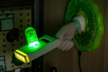 Lampada 3D Portal Gun