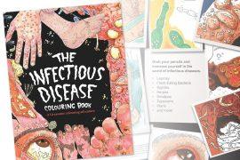 Libro da colorare Malattie infettive