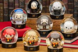 Mini sfere di neve Harry Potter