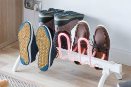 Porta scarpe riscaldato