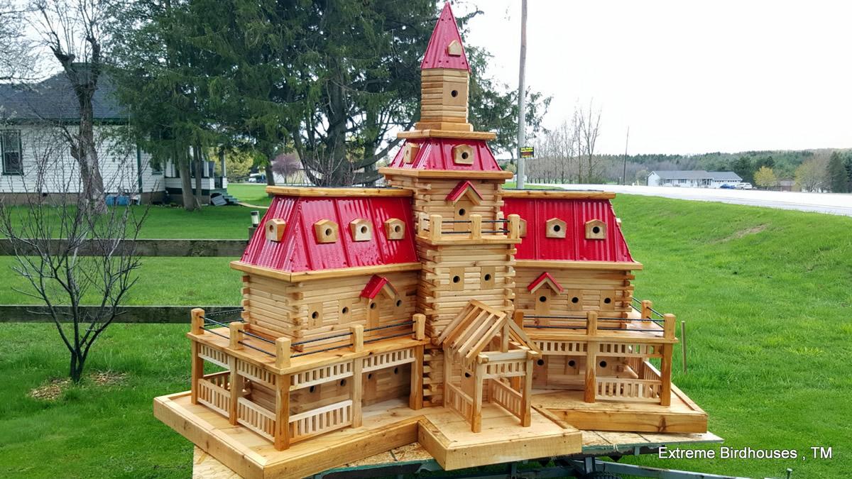 Casetta per uccelli gigante
