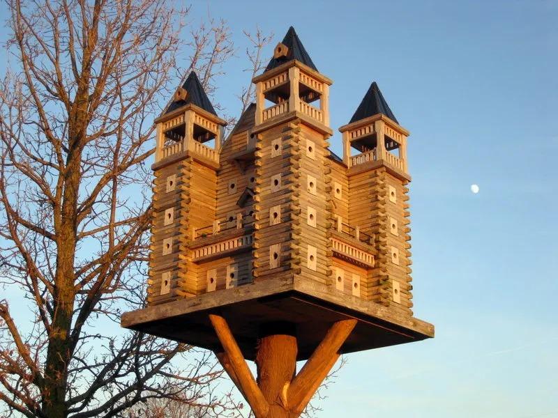 Castello per uccelli