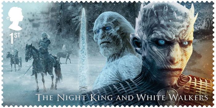 Francobollo White Walkers