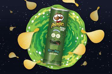 Pringles Cetriolo Rick