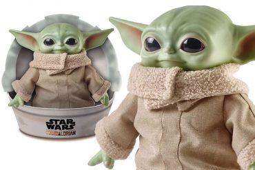 Pupazzo Baby Yoda