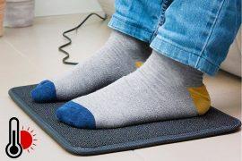 Tappetino riscaldato per i piedi