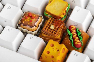 Tasti alimentari per tastiere